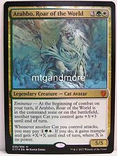 Magic Commander 2017 - 1x Arahbo, Roar of the World - Mythic Rare