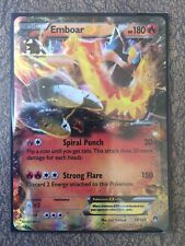 Pokemon Card  EMBOAR EX  Ultra Rare  14/122  BREAKPOINT ***MINT***