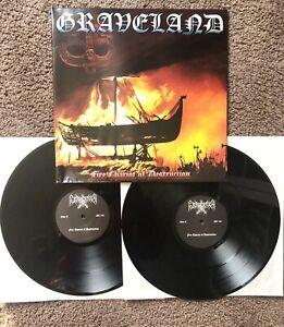 Graveland - Fire Chariot of Destruction LP Absurd Goatmoon Thousand Swords Craft