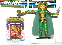 Vintage 1986 G.I. Joe / Cobra SERPENTOR (V1) Cobra Emperor - COMPLETE w/ EXTRAS!
