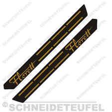 KREIDLER RS TANK AUFKLEBER SET GOLD/SCHWARZ NEU - 30406