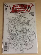 JUSTICE LEAGUE OF AMERICA #2 MICHAEL TURNER SKETCH VARIANT (2007 DC) HTF