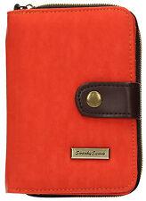 SwankySwans Womens Riley Nylon Small Flip Wallet Orange