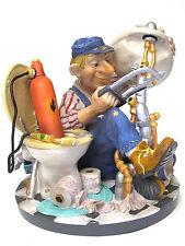 Profisti - Klempner Installateur -  Skulptur Figur 20613O