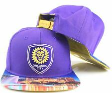 buy online a5422 62c8f adidas Orlando City SC MLS Youth Photo Snapback Cap Hat