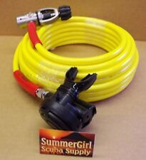Brownie's Third Lung 100 ft.hookah hose With 1st & 2nd Stage Regulator,Scuba