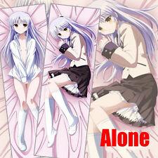 Japan Anime Angel Beats! Kanade Tachibana Dakimakura Hugging Body Pillow Case