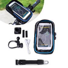 Universal Erstellbar Motorrad Fahrrad Handy Halter + Wasserdichte Handy Tasche