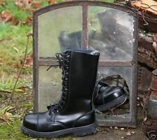 Anfibi militari Stivali Scarponi 14 buchi fori Ranger Boots Army Rangers UK 9 43