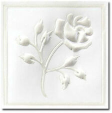 Pearl Foil Rose Wedding Invitation Seals 25/pk