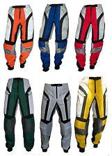 Pantaloni per moto da fuori strada cross quad bmx L XL XXL 3XL 50 52 54 56 58 60