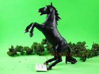Cake Topper Papo Black Horse Jumping Figure Statue Model DIORAMA A482