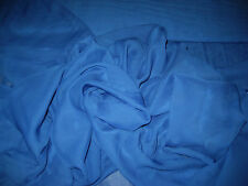 """Royal Blue Solid Plain 100% Polyester Chiffon Fabric 58"""" Wide By The Yard"""
