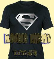 Tee Shirt SUPERMAN SILVER Enfant - T Shirt Superman ENFANT -  1 an à 14 ans