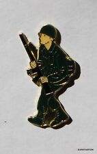 Army Man Lapel Hat Pin Tack Military Patriotic War Rifle Bond