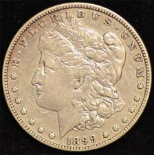 1899 VF Morgan Silver Dollar #1