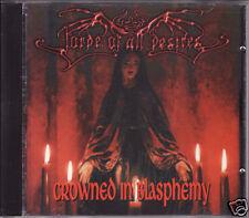 LORDE OF ALL DESIRES crowned in the blasphemy CD 1998 Black Gothic Metal