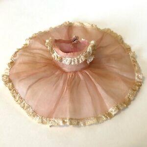Vintage 1950s Madame Alexander-Kins by Madame Alexander Rose Organdy Dress