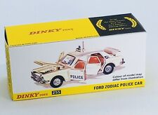 Dinky 255 Ford Zodiac Police Car Empty Repro Box Only
