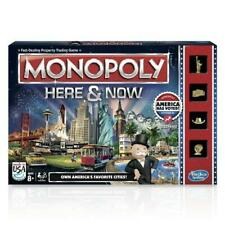 Monopoly Here and Now Game New in Package