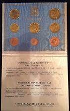 vaticano euro 2012 divisionale fdc in folder originale