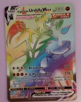Urshifu Vmax 167/163 Rainbow Rare Battle Styles Pokemon card NM Mint Pack fresh!