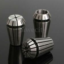 """3pcs ER20 Spring Collet Chuck Lathe Milling CNC Engraving Holder 1/8"""" 1/4"""" 1/2"""""""