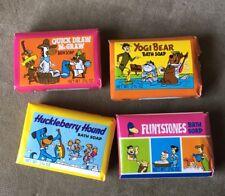 Vintage Flintstones Hanna Barbara And Friends Cartoon Character Soap Bars