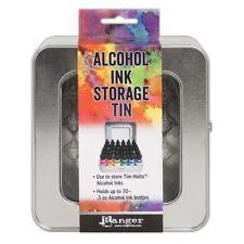 New Ranger TIM HOLTZ Alcohol Ink & Reinker STORAGE TIN (Holds up to 30 bottles)