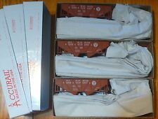 Accurail HO #1224 Pennsylvania (3 Pack) Wood Side Twin Hoppers (Kit Form)