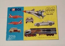 CORGI January/June 2016 catalogue 60 Years of Corgi Die-cast Models CO200824