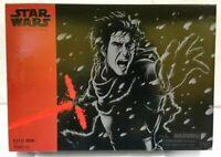 "HASBRO STAR WARS BLACK SERIES 6"" inch Kylo Ren Unmasked Exclusive SDCC 2016"