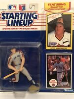 1990 Starting lineup Kevin McReynolds Baseball figure Card New York Mets toy