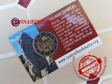 2 Euro CC Coincard BU Malte 2020 - Temple avec Poincon Cornucopia