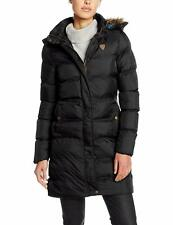 Women Brave Soul Hoplong Fur Hooded Padded Puffer Long Winter Ladies Jacket Coat