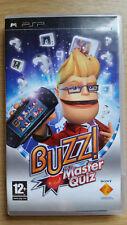 BUZZ MASTER QUIZ Game - SONY PSP