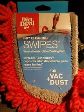 BRAND NEW~DIRT DEVIL~DRY CLEANING SWIPES Microfiber Dusting Pad~VAC/DUST~AD51005