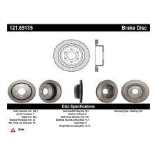 Centric Parts 121.65135 Rear Disc Brake Rotor