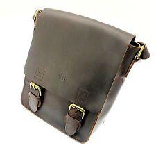Markenlose Messenger Taschen aus Leder für Damen