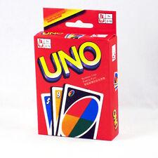 UNO 108 Spaß Standard Spielkarten Spiel für Familie Freund Reise Anleitung