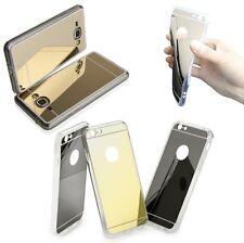 * Silikonhülle MIRROR Case Cover Hülle Tasche mit Spiegel für Samsung, Sony