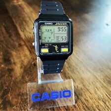 RARE Vintage 1983 Casio GS-11 Digital Soccer Game Watch, Made in Japan, Mod. 228