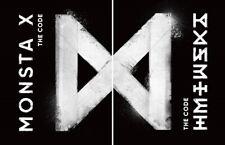 MONSTA X - The Code [Random ver.] CD+2Photocards+Poster+Extra Photocard Set