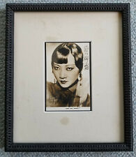Vintage ANNA MAY WONG twice signed photograph with COA. Asian American Actress