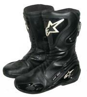 """"""" ALPINESTARS """" Motorradstiefel / Stiefel / Racing-Boots in schwarz ca. Gr. 41,5"""