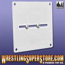 Universal Replica Belt Wall Hanger (White) For Most WWE Replica Belts