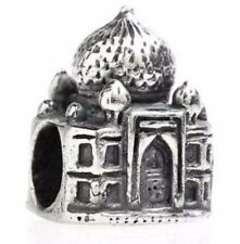 ORIGINAL TEDORA TAJ MAHAL INDIA BEAD SILBER 925 MIT EUROPEAN BEADS 097