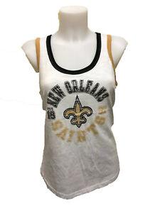 G-III 4her New Orleans Saints Women's Reverse Standing Tank Top