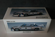 BMW 3.0L CSL Spa 1973 Amon / Stuck AutoArt 1/18