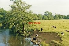 PHOTO  STAFFS 1986 SOUTH VIEW ON RIVER DOVE AT MAPLETON